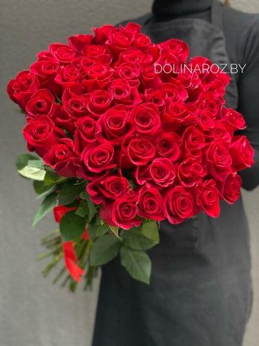 "Букет роз ""Фридом 51"" 51 роза"