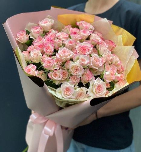 Букет «Рефлекс» Кустовые розы