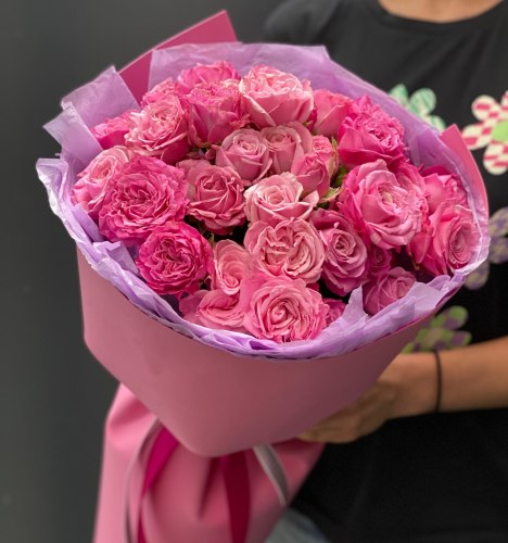 Букет «Милота» Кустовые розы