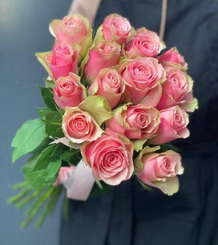 Букет роз «Элис» 15 роз