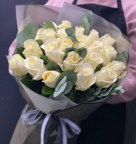 """Букет роз """"Затмение"""" 25 роз"""