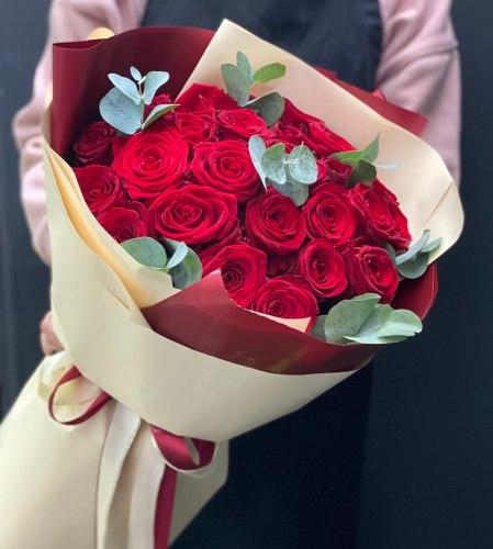 """Букет роз """"Риана"""" 25 роз"""