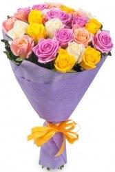 """Букет роз """"Миксовый"""" 25 роз"""