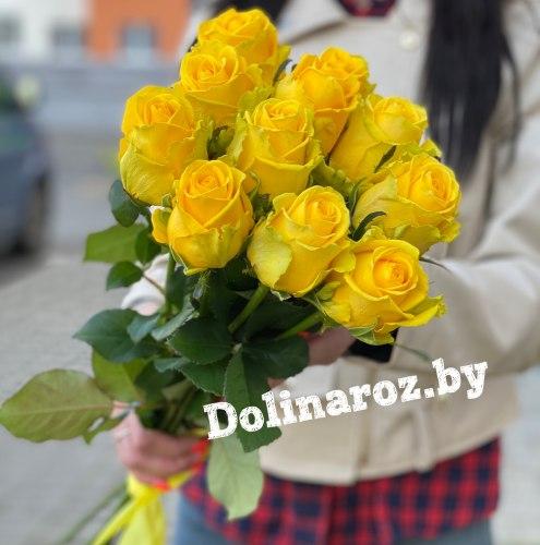 """Букет роз """"Цыпа"""" 11 роз"""