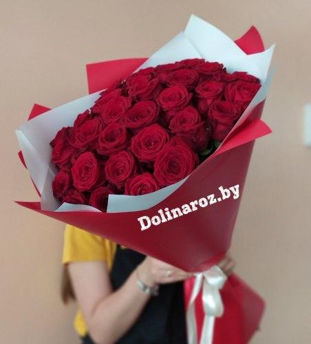 """Букет роз """"Перец"""" 31 роза"""