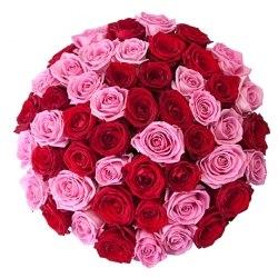 """Букет роз """"Яркий"""" 41 роза"""