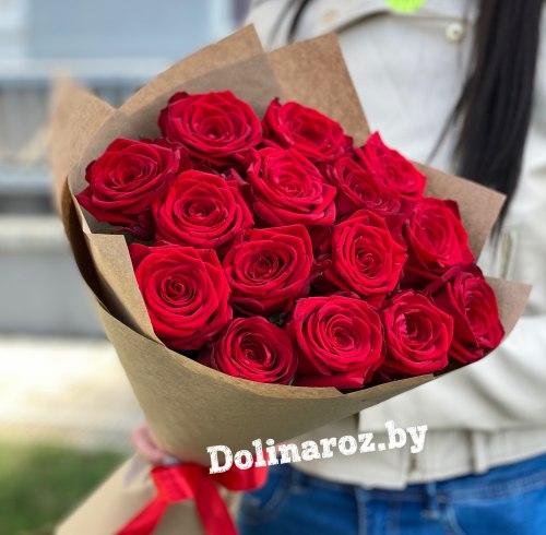 """Букет роз """"Актуальный"""" 15 роз"""