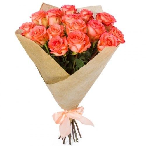 """Букет роз """"Импортный"""" 15 роз"""