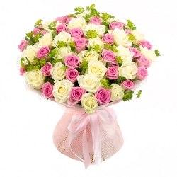 """Букет роз """"Жемчужина"""" 41 роза"""