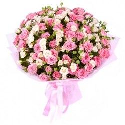 """Букет роз """"Желанный"""" Кустовые розы"""