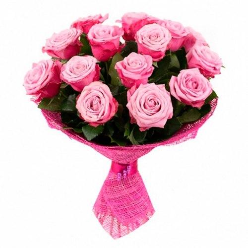 """Букет роз """"Волнующий"""" 15 роз"""