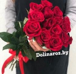 """Букет роз """"Кира"""" 15 роз"""