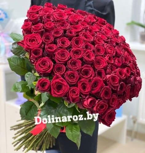 """Букет роз """"Восторг"""" 101 роза"""