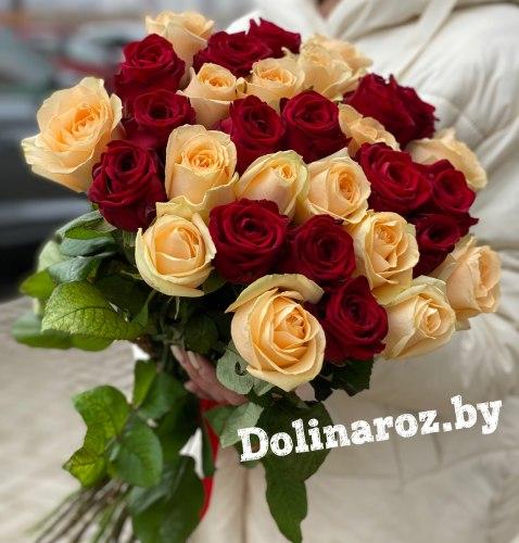"Букет роз ""Благодарю"" 31 роза"