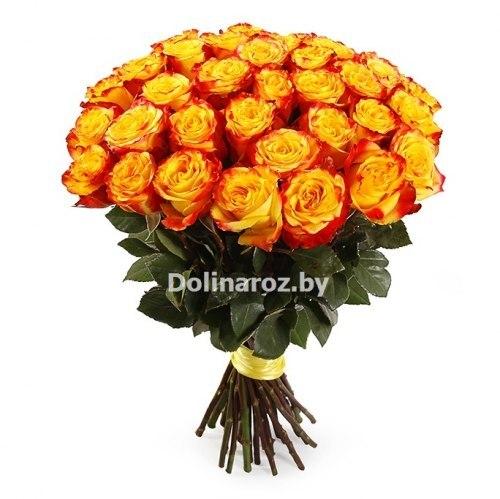 """Букет роз """"Жаркий"""" 31 роза"""
