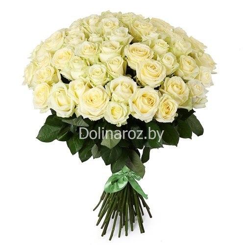 "Букет роз ""Пышный"" 51 роза"