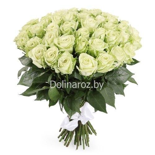 """Букет роз """"Green"""" 51 роза"""