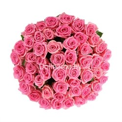 "Букет роз ""Райский"" 51 роза"