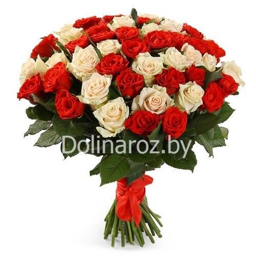 "Букет роз ""Пинки"" 51 роза"
