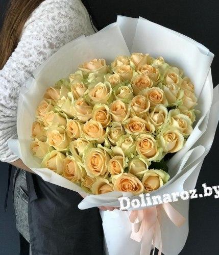 """Букет роз """"Чарующий"""" 51 роза"""