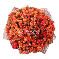 """Букет роз """"Блеск"""" Кустовые розы"""