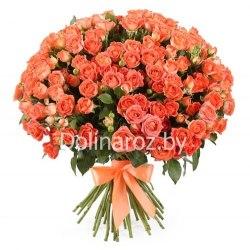 """Букет роз """"Тайфун"""" Кустовые розы"""