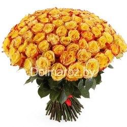 """Букет роз """"Сильные чувства"""" 101 роза"""