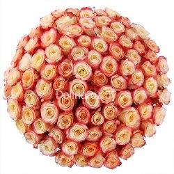 "Букет роз ""Кабаре"" 101 роза"