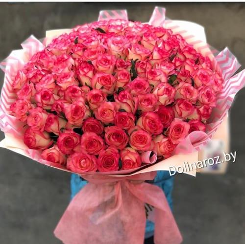 """Букет роз """"Ты и Я"""" 101 роза"""