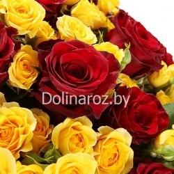 """Букет роз """"Вселенная"""" Кустовые розы"""