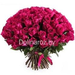 "Букет роз ""Мами Блю"" 101 роза"