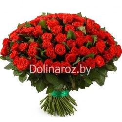 """Букет роз """"Эль Торо"""" 101 роза"""