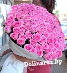 "Букет роз ""Аквамарин"" 101 роза"