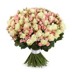 """Букет роз """"Волшебный"""" 101 роза"""