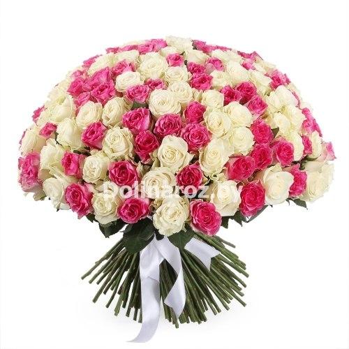 """Букет роз """"Необъятный"""" 201 роза"""