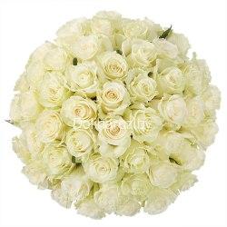 Цветы в коробке №16 41 роза