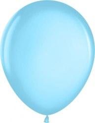 """Латексный шар с гелием """"Голубой"""" 12"""" (30 см)"""