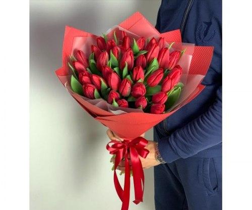 """Букет тюльпанов """"Желанный"""""""