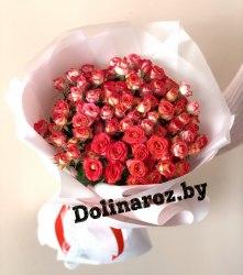 """Букет цветов """"Соблазнитель"""" Кустовые розы"""