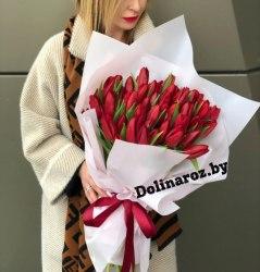 """Букет тюльпанов """"Стильный"""""""