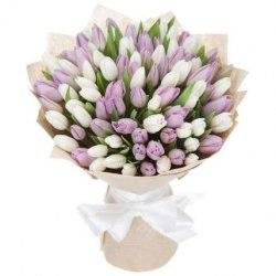 """Букет тюльпанов """"Сама нежность"""""""