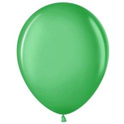 """Латексный шар с гелием """"Зелёный"""" 12"""" (30 см)"""