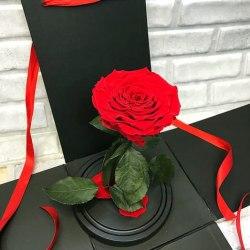 """Подарочная коробка для розы в колбе """"WOW Эффект"""""""