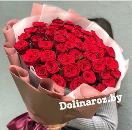 """Букет роз """"Признание"""" 51 роза"""
