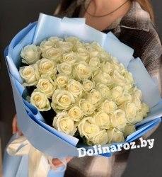 """Букет цветов """"Светлый День"""" 51 роза"""