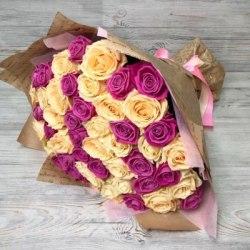 """Букет цветов """"Веселье"""" 31 роза"""