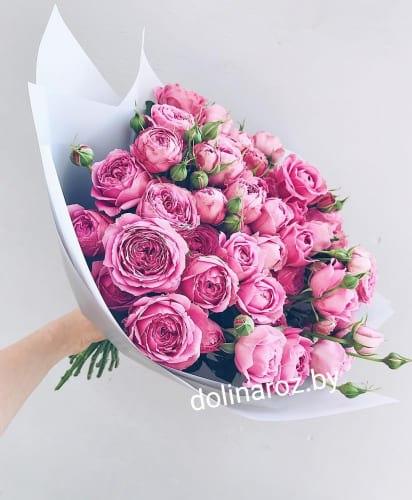 """Букет цветов """"Баблс"""" Кустовые розы"""