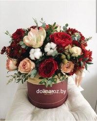 """Цветы в коробке """"Желанная"""""""