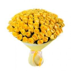 """Букет цветов """"Сонейка"""" 101 роза"""