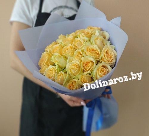 """Букет роз """"Солнце"""" 25 роз"""